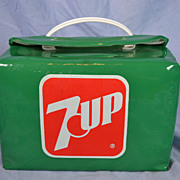 REDUCED SEVEN-UP Lunch Box/ Soft Sided Tote