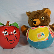 Fisher Price Happy Apple and Bear Roly Poly's