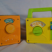 Fisher Price Wind Up Radios