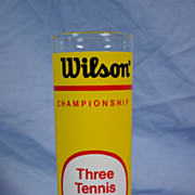 Wilson Championship Tennis Ball Can Glass