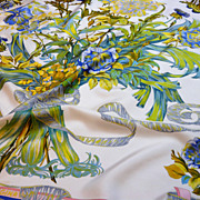 Authentic Vintage Hermes Silk Scarf Regina - Great Value