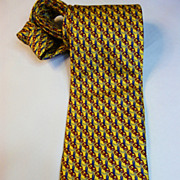 Authentic Brands Silk Necktie Excellent Vintage Condition