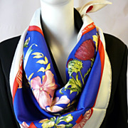 Authentic Vintage Herms Silk Scarf Regina Prix de Diane - Herms - 1986, Limited Special Edit