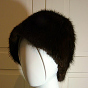 Vintage Ladies Fur Hat in Excellent Condition