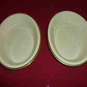 Lenox China - Tuxedo -  Vegetable Bowls