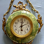 SOLD Antique French Baker's Clock, 1880's
