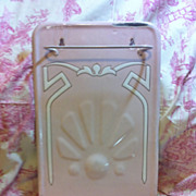 SOLD Rare Pink French Art Nouveau Drip Tray, c. 1860