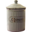 French Antique Enamelware Chicory Canister- &quot;Chicore&quot;, BB Freres
