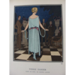 REDUCED 'Come Dance' Art Deco Pochoir Fashion Print by P, Brissaud, La Gazette de Bon Ton, 1921