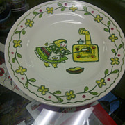 Metlox Happy Time bread butter plate