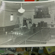 2 Vaudeville Act theatre stills of interior set up early 20th Century