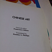 Chinese Art: Francesco Abbate Octopus Art Series, HC