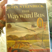 1947 Wayward Bus by John Steinbeck 1st Ed DJ
