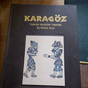 Turkish Shadow Theatre KAragoz Shadow Puppets 1987 Dr Metin And