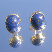 14kt Lapis Lazuli Stud Earrings
