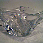 Daum Nancy Crystal Ash Tray