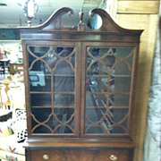 SALE Beautiful Antique Mahogany Display Cabinet (display, china, bookcase) circa Early 20th ..