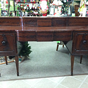 SALE Gorgeous Antique Mahogany Federal Sideboard circa 1820