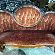 SALE Gorgeous Antique Walnut Victorian Sofa circa 1880 (Excellent Condition)