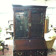 SALE Gorgeous Antique Mahogany Block Front Secretary Desk circa Early 20th Century (Joseph ...