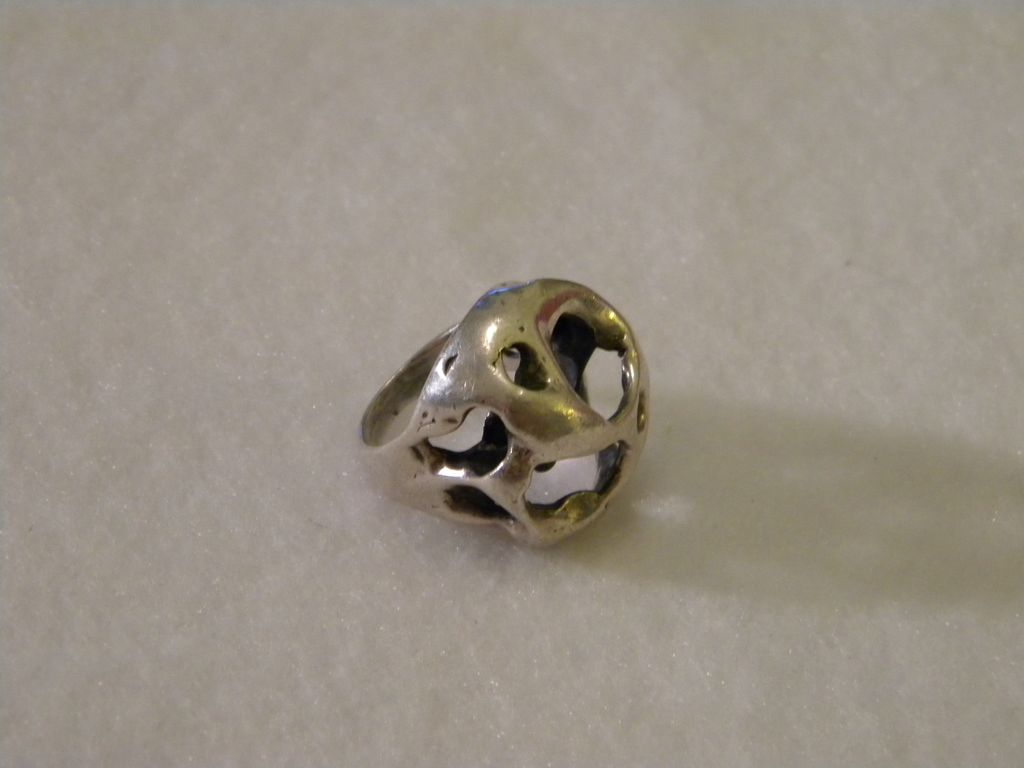 Vintage Bio-Morphic James Avery Sterling Silver Ring