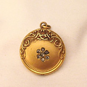 Fantastic Art Nouveau Gold Filled Locket