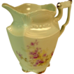 Vintage Weimar Germany Handpainted Porcelain Creamer