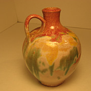 "SALE NC Pottery, C C Cole ""Tourist Pottery"" Jug"