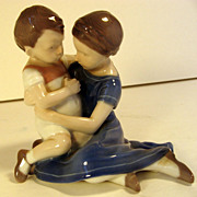 Bing & Grondahl Figurine Children Playing, #1568