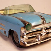 SALE IRWIN Baby Mercury Convertible Toy Tin-Type Friction Car