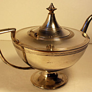 Antique Forbes Silver Company Quadruple Silverplate Aladdin Teapot