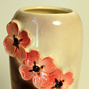 Vintage Royal Copely, Unmarked Vase with Dogwood Blossoms