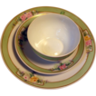 Desert Service for 4, Fine Handpainted Porcelain Marked Hutschenreuther Selb Bavaria Favorite