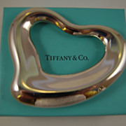 SALE Tiffany & Co. Elsa Peretti Sterling Rattle