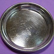 SALE Allan Adler Sterling Dish with Goat Rampant