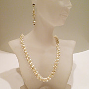 SOLD Handmade Pearl Bridal Jewelry -Grace