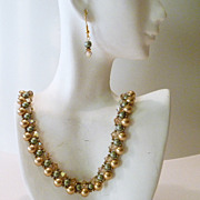 REDUCED Handcrafted Woven Swarovski Crystal Necklace