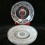 Five 7&quot; Anchor Hocking &quot;Sandwich&quot; dessert or salad plates