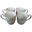 4 Johnson Brothers Summer Chintz earthenware china coffee tea or hot chocolate mugs