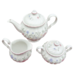 Johnson Brothers' Summer Chintz teapot, creamer & sugar