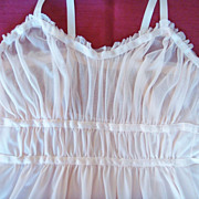 Vintage 'Vanity Fair' Extacee Pale Pink Nightgown