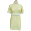 Mod Yellow Miniskirt Dress