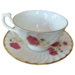 Royal Kendal Fine Bone China Rose Cup & Saucer