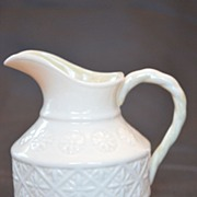 Belleek Cleary Cream Pitcher 4th Mark 1st Green Mark