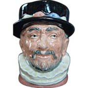 Royal Doulton BEEFEATER Small Toby Character Jug or Mug D6233