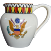 Adams Tunstall PITCHER with Great Seal of United States Early 20th Century