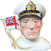 Royal Doulton EARL MOUNTBATTEN Character Jug Limited Edition D6851