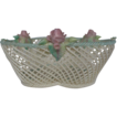 Belleek Shamrock Basket D109 Period 4 Hand Painted Small