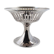 Silver REED & BARTON Miniature Reticulated Compote