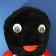 REDUCED Vintage Large Plush Golly with Googly Eyes
